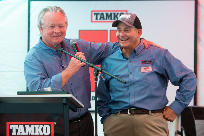 David Humphreys and Rick Taylor, TAMKO Field Sales Training Manger